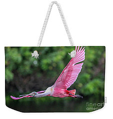 Spoony In Flight Weekender Tote Bag