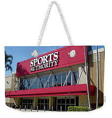 Sports Authority Building. Florida Weekender Tote Bag