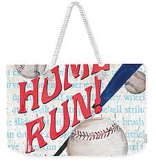 Sports Fan Baseball Weekender Tote Bag