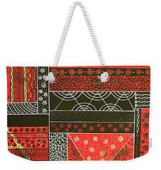 Spotaneous Red Weekender Tote Bag