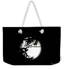 Spotlight Moon Weekender Tote Bag