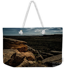 Weekender Tote Bag featuring the photograph Spotlight On History by Melany Sarafis