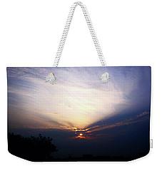 Spotlight Sunrise Weekender Tote Bag