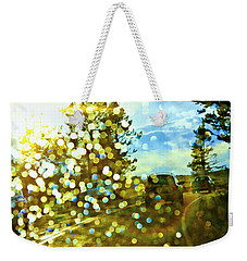 Spots Of Light Weekender Tote Bag