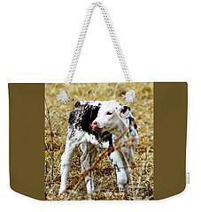 Spotted Newborn Calf Weekender Tote Bag