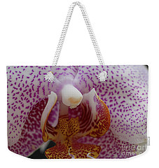 Spotted Orchid Weekender Tote Bag
