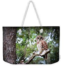 Spotted Owl II Weekender Tote Bag