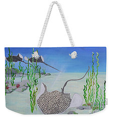 Spotted Ray Weekender Tote Bag