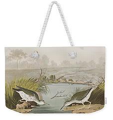 Spotted Sandpiper Weekender Tote Bag