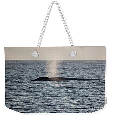 Weekender Tote Bag featuring the photograph Spouting by Suzanne Luft