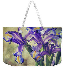 Weekender Tote Bag featuring the photograph Spread Love by Laurie Search