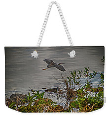Weekender Tote Bag featuring the photograph Spread Your Wings And Fly by Judy Hall-Folde