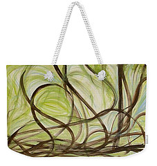 Spring - Sprouting Weekender Tote Bag by Rae Chichilnitsky