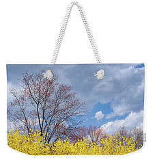 Weekender Tote Bag featuring the photograph Spring 2017 by Bill Wakeley