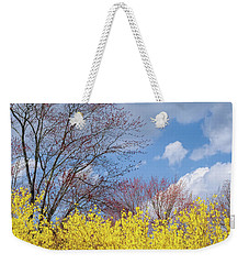 Weekender Tote Bag featuring the photograph Spring 2017 Square by Bill Wakeley