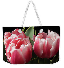Weekender Tote Bag featuring the photograph Spring by Ann Jacobson