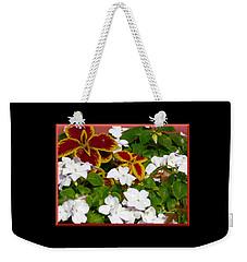 Spring Annuals Weekender Tote Bag