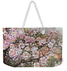 Spring At Country Side Weekender Tote Bag by Vali Irina Ciobanu