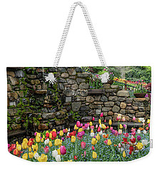 Weekender Tote Bag featuring the photograph Spring At Crystal Hermitage by Janis Knight