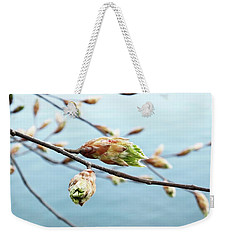 Spring At The Lake Weekender Tote Bag