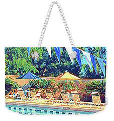 Spring At The Pool Weekender Tote Bag