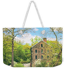 Spring At The Stone Mill  Weekender Tote Bag by Jessica Jenney