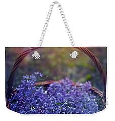 Spring Basket Weekender Tote Bag by Agnieszka Mlicka