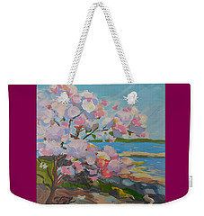 Spring Blooms By Sea Weekender Tote Bag