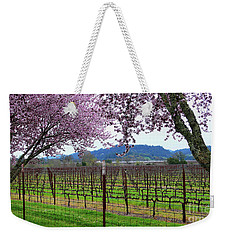 Spring Blossoms Near Calistoga Weekender Tote Bag