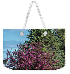 Weekender Tote Bag featuring the photograph Spring Blossoms by Paul Freidlund