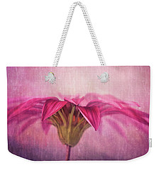 Weekender Tote Bag featuring the photograph Spring Blush by Amy Weiss
