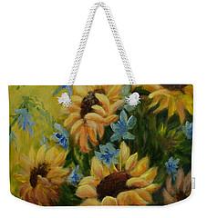Sunflowers Galore Weekender Tote Bag
