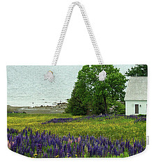 Spring Bouquet Of Lupine Weekender Tote Bag