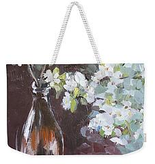 Spring Breakfast Weekender Tote Bag by Vali Irina Ciobanu