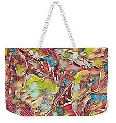 Spring Breaks Forth Weekender Tote Bag by Kathie Chicoine