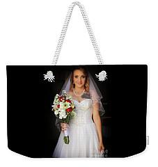 Spring Bride Weekender Tote Bag
