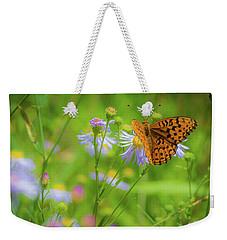 Spring Butterfly Weekender Tote Bag