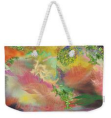 Spring Chaos Weekender Tote Bag