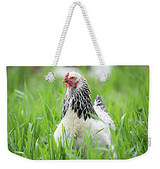 Spring Checken Weekender Tote Bag