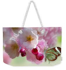 Spring Cherry Blossom Weekender Tote Bag