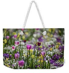 Spring Colors Weekender Tote Bag by Eva Lechner
