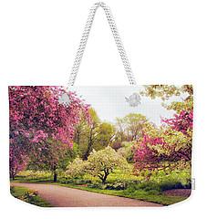 Spring Crescendo Weekender Tote Bag by Jessica Jenney