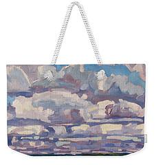 Spring Cumulus Weekender Tote Bag
