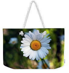 Weekender Tote Bag featuring the photograph Spring Daisy by Jeff Severson
