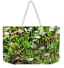 Spring Daisy Trails Weekender Tote Bag