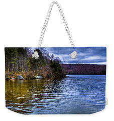 Spring Day On Limekiln Weekender Tote Bag by David Patterson