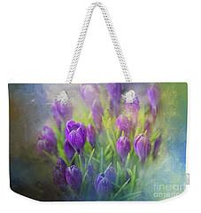 Spring Delight Weekender Tote Bag by Eva Lechner