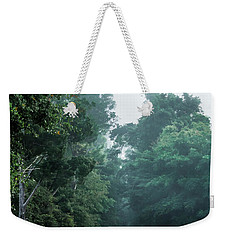 Weekender Tote Bag featuring the photograph Spring Dirt Road by Shelby Young