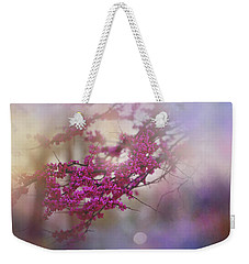 Weekender Tote Bag featuring the photograph Spring Dream I by Toni Hopper