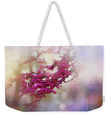 Weekender Tote Bag featuring the photograph Spring Dreams II by Toni Hopper